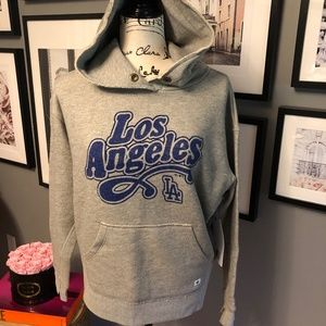 LA Dodgers Hood
